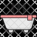 Hot Bath Icon