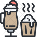 Hot Chocolate Juice Muffin Icon