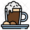 Hot Chocolate Food And Restaurant Tea Cup Icon