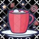 Hot Chocolate Chocolate Tea Teacup Icon