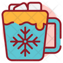 Hot Cocoa Refreshment Beverage Icon