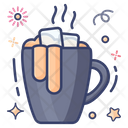 Hot Cocoa Hot Chocolate Coffee Cup Icon