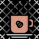 Cup Coffee Smoke Icon