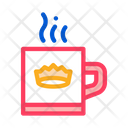 Crown Drink Decoration Icon