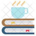 Hot Coffee Books Restaurant Icon