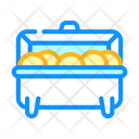 Hot Container Food Container Hot Icon