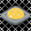 Hot Cross Bun Icon