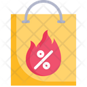 Deal Hot Bag Promotion Icon