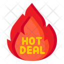 Hot Deal Hot Offer Sale Icon