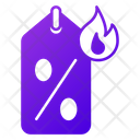 Hot Deal Sale Discount Icon