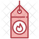 Hot Deal Price Tag Shopping Icon