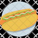 Hot Dog Sandwich Icon