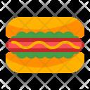 Snack Sausage Bread Icon