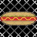 Hotdog Non Veg Food Fast Food Icon