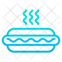 Meat Fast Food Junk Food Icon