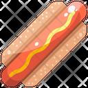 Hot Dog Food Fastfood Icon