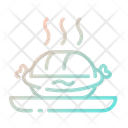 Hot Dog Bun Snack Icon