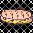 Hot Dog Icon