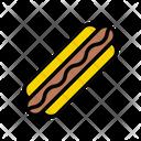 Hotdog Fastfood Lunch Icon
