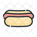 Hot Dog Bread Sausage Icon