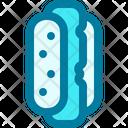 Hot Dog Junk Food Sandwich Icon