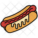 Barbecue Bbq Hot Dog Icon