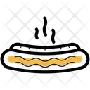 Hot Dog Food Barbecue Icon