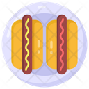 Wiener Hot Dog Frankfurter Icon