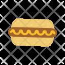 Hotdog Food Icon