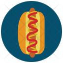 Hot Dog Bread Icon