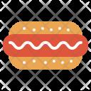 Hot Dog Sausage Icon