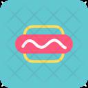 Hotdog Sandwich Fast Icon