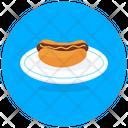 Hot Dog Burger Hot Dog Sandwich Junk Food Icon