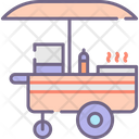 Hot Dog Stall Food Stall Food Store Icon