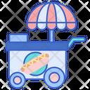 Hot Dog Stall Icon