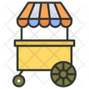 Hot Dogs Cart Icon