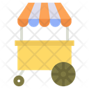 Hot Dogs Cart Hot Dog Stand Vending Cart Icon