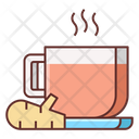 Hot Ginger Tea Icon
