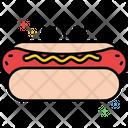 Mhot Dog Hot God Breakfast Icon