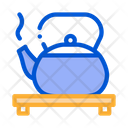 Hot Kettle Stand Icon