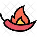 Hot Pepper Vegetables Icon