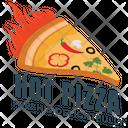 Hot Pizza Icon