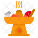 Hot Pot Asian Food Meal Icon