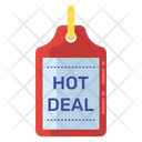 Hot Price Tag Icon