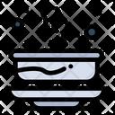 Bowl Hot Soup Icon