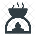 Spa Hot Candle Icon