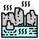 Hot Spring Relax Icon