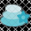 Alternative Medicine Hot Stone Spa Icon