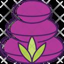 Hot Stones Stone Massage Spa Stones Icon