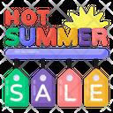 Summer Sale Labels Summer Sale Tags Summer Sale Icon